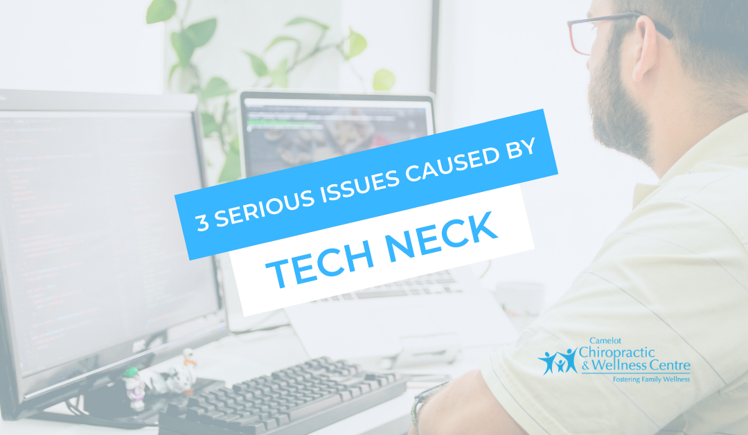 3 Serious Issues Caused by Tech Neck